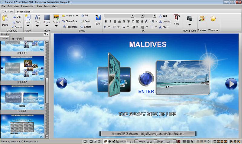 Aurora 3D Presentation 2012 Crack v14.09.09 FREE Download