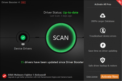 Driver Booster PRO 7.4.0.730 Crack + 2020 Free Download