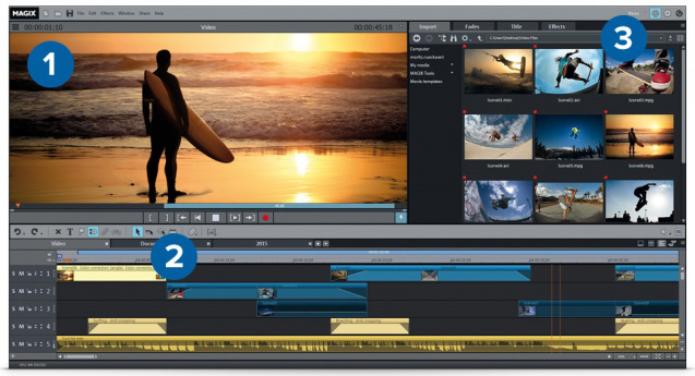 MAGIX Movie Edit PRO 2017 Premium v16.0.3.66 Full + Crack