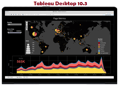 Tableau Desktop 10.3 Crack + Activation Key 2018 [Latest]