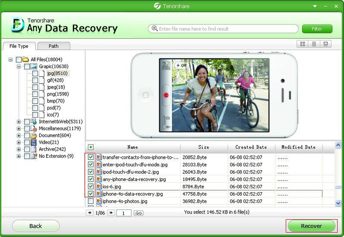 Tenorshare Any Data Recovery Pro 7.1.1 Crack & Serial Key Full
