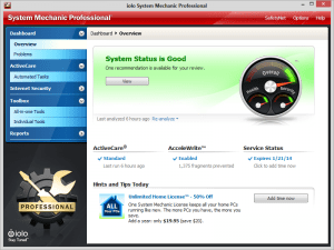 System Mechanic Pro 16.5.2.203 Crack Full Version Serial Key