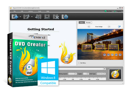 Tipard DVD Creator Crack + Serial Key Free Download