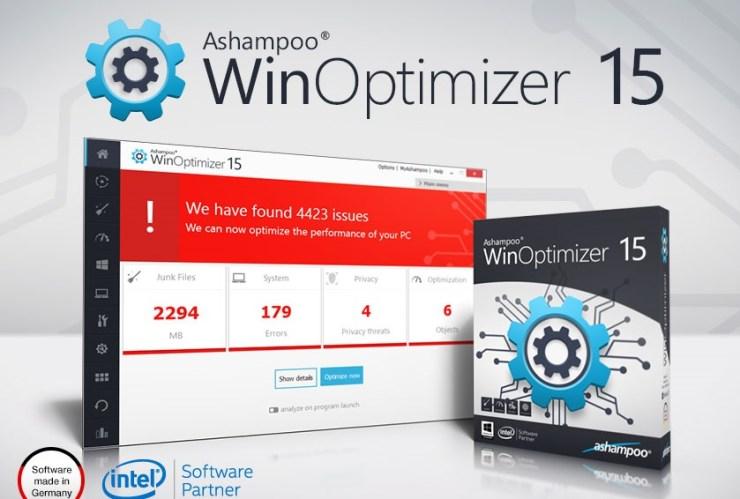Ashampoo WinOptimizer 15.00.01 Crack + Serial Key [Latest]