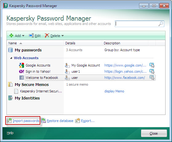 Kaspersky Password Manager 9.0.2.1525 Crack & Serial Key Free Download