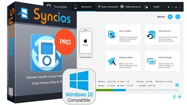 Syncios 6.5.1 Crack Professional Serial Key Free Download