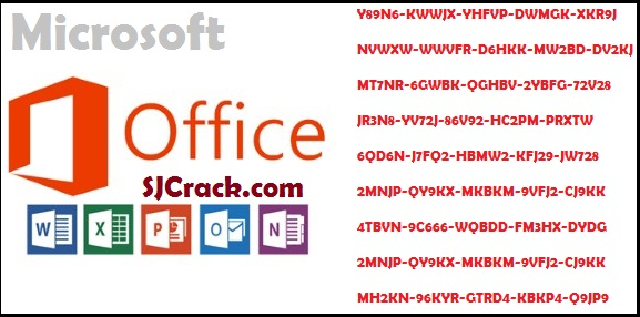 Microsoft Office 2013 Product Key Full Working 100%