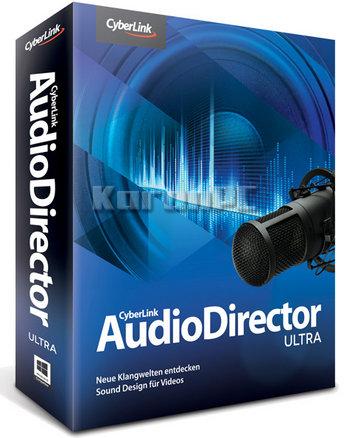 CyberLink AudioDirector 9 Crack Ultra Key 2019 Free Download