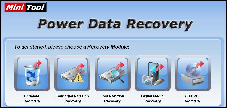 MiniTool Power Data Recovery 8 Crack + Serial Key Full