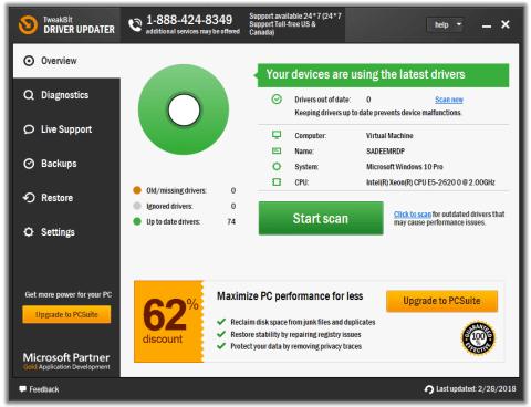 TweakBit FixMyPC 1.8.2.6 Crack + Activation Key Full Version Free Download
