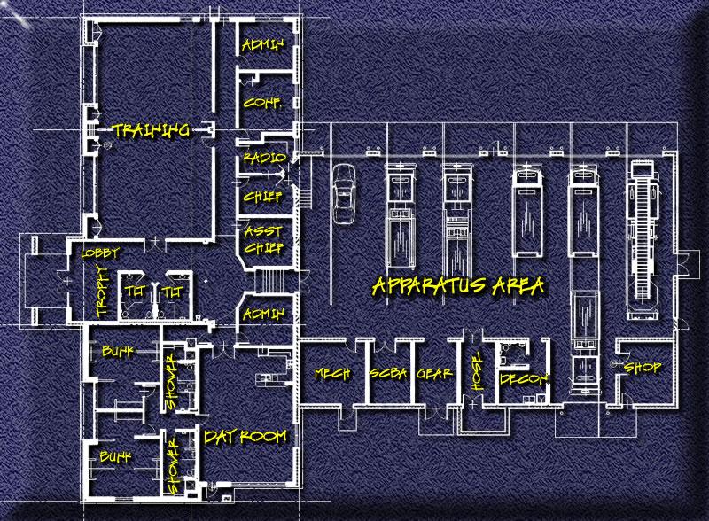 Floor Plan Upper Saucon Volunteer Fire Department #1