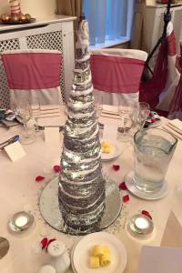LED Cone Table Centre Piece