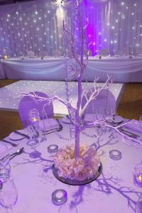 Manzanita Tree Table Centre Piece (in white, silver or gold)