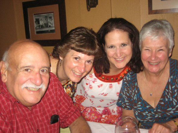 The Ingrassia Family: Johnny, Dawn, Sharon and Connie, celebrating Johnny's 75th birthday in 2010. Sadly, he passed away October, 2010.