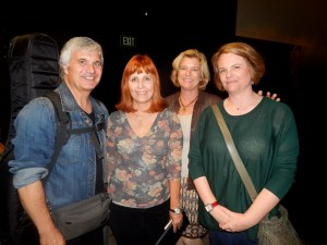 Laurence Juber with Canyon Crest Academy Foundation Members Photo by Susan Farese, SJF Communictions