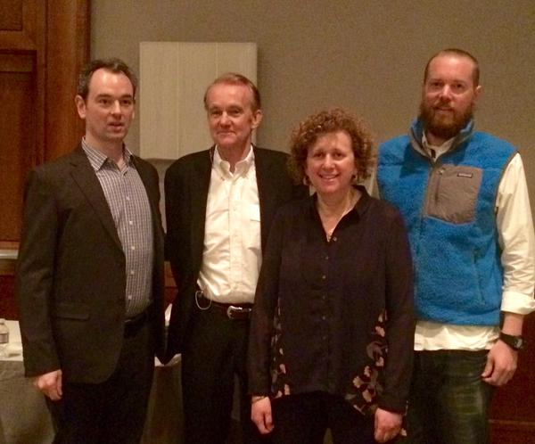 See, Think, Design Produce Speakers: Left to right: Jonathan Corum, Edward Tufte, Alyssa Goodman & Mike Bostock