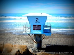 LIfeguard stand at Torrey PInes State Beach; SJF Communications www.sjfcommunications.com