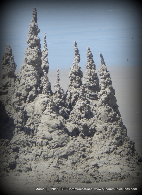 Sandcastle at Torrey Pines State Beach