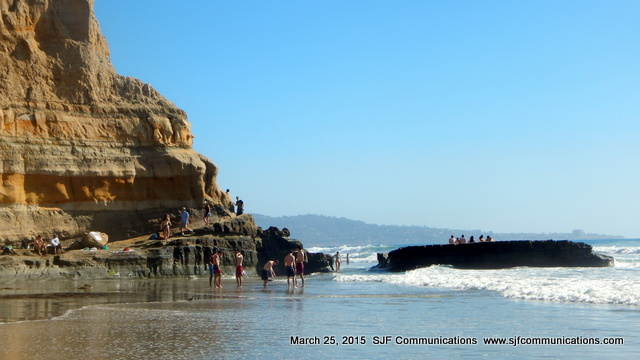 Spring Break at Torrey Pines State Beach