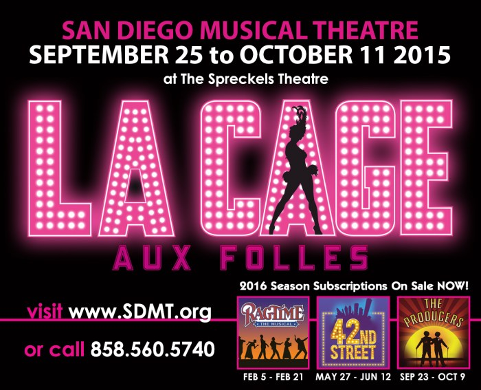 SDMT La Cage Aux Folles and 2016 Season Image