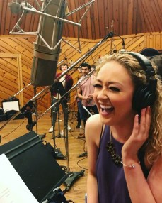 "Devon Hadsell Recording for ""Mean Girls'"