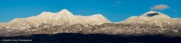 La Sal Mountains, Utah, after a recent snowfall.
