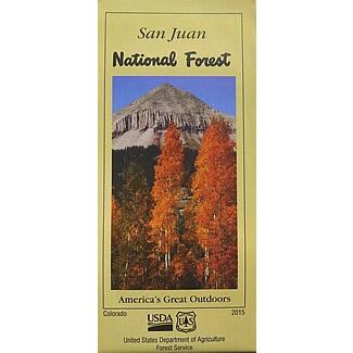San Juan National Forest Map - SJMA