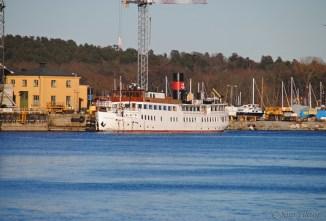 En annan vinkel på Stockholm.