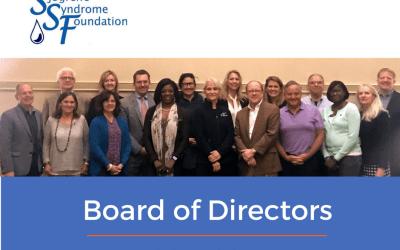 Sjogrens Foundation May Board Meeting