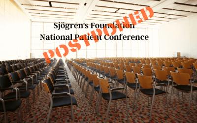 Sjogren's Foundation supports social distancing
