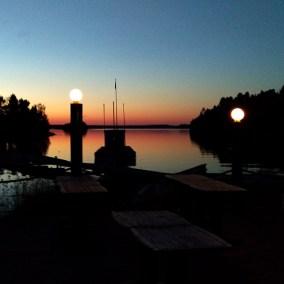 Muskö Sjökrog - Solnedgång