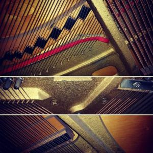 Piano plate pictures