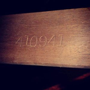 Steinway serial number