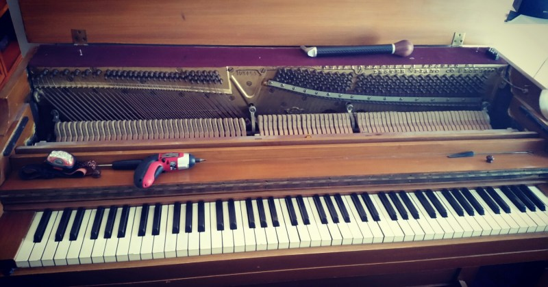 An 80-year-old spinet?