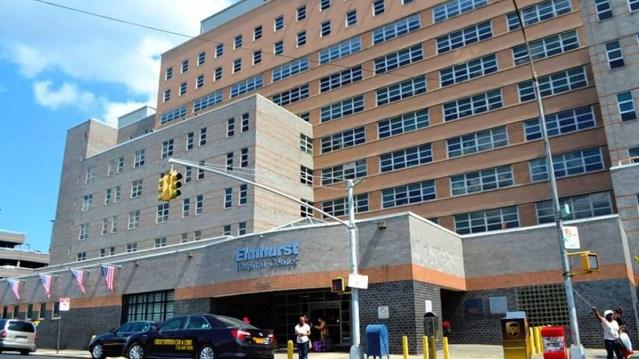 the Elmhurst Medical Center building