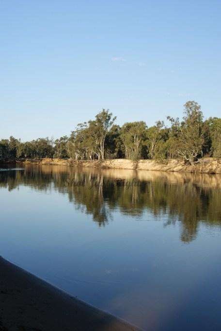 Murray River near Simmie Road