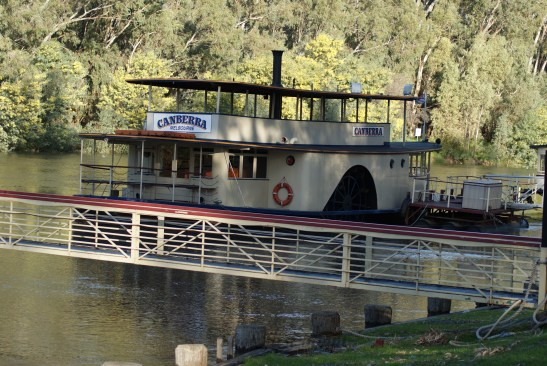 Higher water levels in the Murray and the Canberra