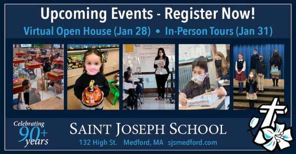 Saint Joseph School Medford Virtual Open House