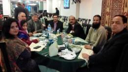 Dr. Saleem AIOU PDEEP Contibutors along with Dr. Siddiqui Vice Chancellor at AIOU