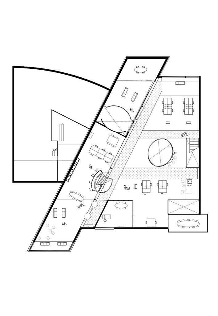 plattegrond verdieping/werkvloer