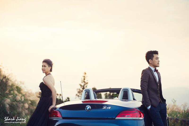 跑車婚紗照~小老婆的逆襲 /SJ Wedding 鯊魚婚紗婚攝團隊