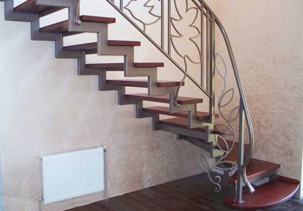 Цены на кованые лестницы на второй этаж в частном доме ...