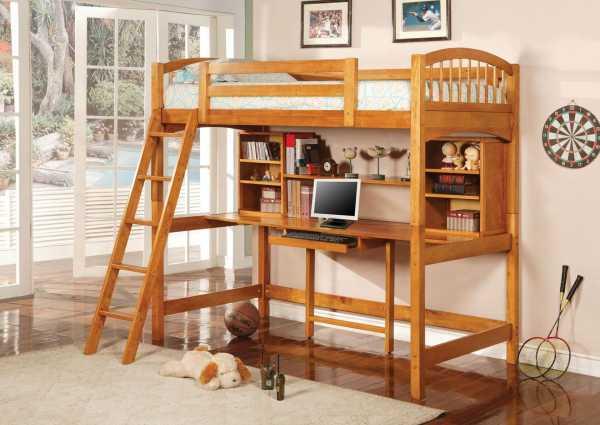 Детские двухъярусные кровати с размерами фото ...