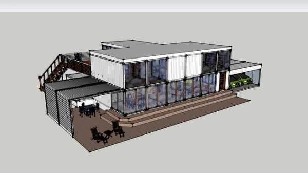 Дом из контейнеров фото проекты и цены – Дом из морского ...