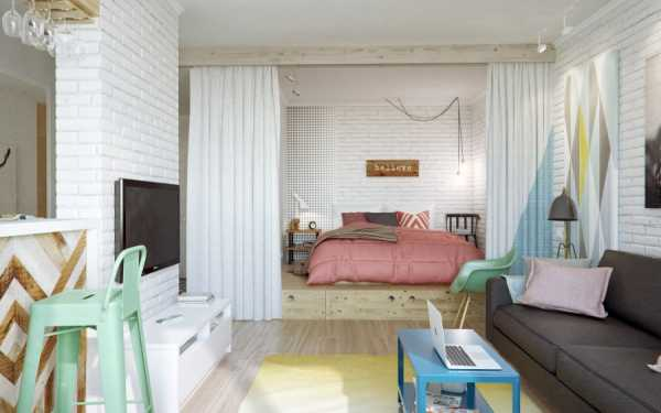 Квартиры однокомнатной – 6 шагов с реальными Фото - sk ...