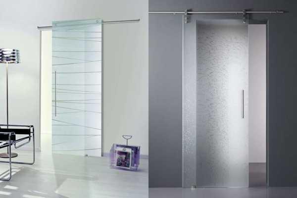 Межкомнатные двери со стеклом в интерьере квартиры фото ...