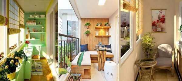 Обустройство балкона внутри фото – 90 фото самых красивых ...