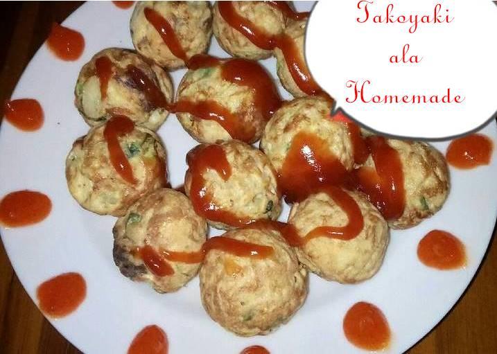 cara membuat takoyaki homemade