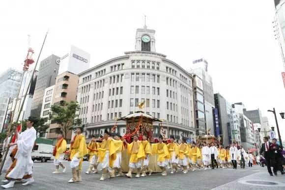 日枝神社山王祭2018の開催日や見どころやイベント内容は?