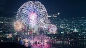広島みなと夢花火大会2017穴場スポットや場所取りと交通規制
